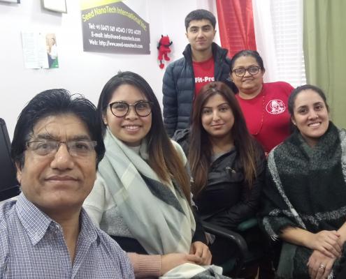 Group at SeedNanoTech 2020